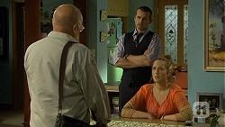 Dave (Fake Walter), Toadie Rebecchi, Sonya Rebecchi in Neighbours Episode 6683