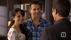 Vanessa Villante, Lucas Fitzgerald, Paul Robinson in Neighbours Episode 6683