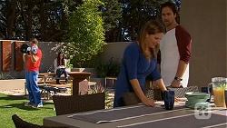 Josh Willis, Terese Willis, Brad Willis in Neighbours Episode 6684