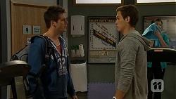 Chris Pappas, Josh Willis in Neighbours Episode 6684