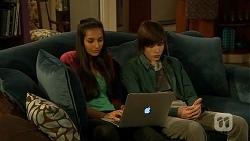 Rani Kapoor, Bailey Turner in Neighbours Episode 6684