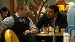 Toadie Rebecchi, Ajay Kapoor in Neighbours Episode 6684