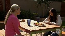 Amber Turner, Imogen Willis in Neighbours Episode 6684