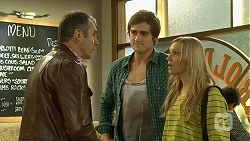 Karl Kennedy, Kyle Canning, Georgia Brooks in Neighbours Episode 6685