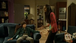 Bailey Turner, Rani Kapoor in Neighbours Episode 6685