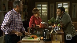 Karl Kennedy, Susan Kennedy, Ajay Kapoor in Neighbours Episode 6685