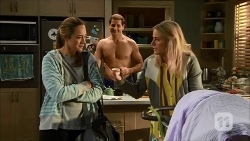 Sonya Mitchell, Matt Turner, Lauren Turner in Neighbours Episode 6686