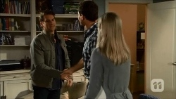 Lucas Fitzgerald, Matt Turner, Lauren Turner in Neighbours Episode 6686