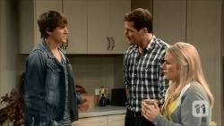 Mason Turner, Matt Turner, Lauren Turner in Neighbours Episode 6686
