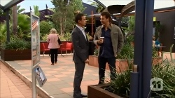 Paul Robinson, Lucas Fitzgerald in Neighbours Episode 6686