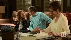 Holly Hoyland, Karl Kennedy, Susan Kennedy in Neighbours Episode 6687