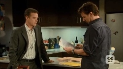 Paul Robinson, Lucas Fitzgerald in Neighbours Episode 6687