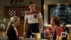 Amber Turner, Josh Willis, Clay Blair in Neighbours Episode 6687