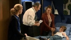 Georgia Brooks, Karl Kennedy, Betty Warren, Cooper Warren in Neighbours Episode 6691