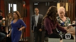 Terese Willis, Paul Robinson, Kate Ramsay, Sheila Canning in Neighbours Episode 6692