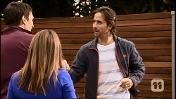Josh Willis, Terese Willis, Brad Willis in Neighbours Episode 6692