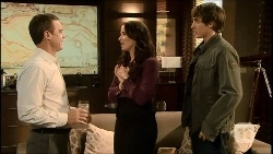 Paul Robinson, Kate Ramsay, Mason Turner in Neighbours Episode 6692