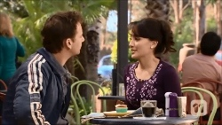 Lucas Fitzgerald, Vanessa Villante in Neighbours Episode 6696