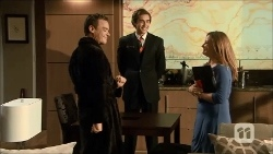 Paul Robinson, Mason Turner, Terese Willis in Neighbours Episode 6696