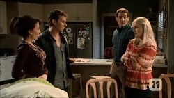 Vanessa Villante, Lucas Fitzgerald, Matt Turner, Lauren Turner in Neighbours Episode 6697