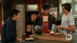 Chris Pappas, Hudson Walsh, Mason Turner in Neighbours Episode 6697
