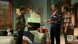 Callum Jones, Toadie Rebecchi, Sonya Mitchell in Neighbours Episode 6701