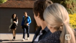 Imogen Willis, Josh Willis, Mason Turner, Amber Turner in Neighbours Episode 6701