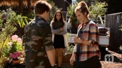 Callum Jones, Imogen Willis, Sonya Mitchell in Neighbours Episode 6701