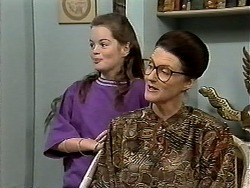 Lochy McLachlan, Dorothy Burke in Neighbours Episode 1191