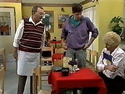 Harold Bishop, Joe Mangel, Madge Bishop in Neighbours Episode 1191