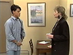 Josh Anderson, Beverly Robinson in Neighbours Episode 1193