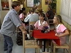 Todd Landers, Cody Willis, Melissa Jarrett in Neighbours Episode 1193