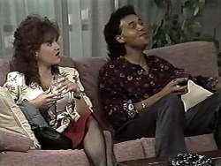 Christina Alessi, Eddie Buckingham in Neighbours Episode 1193