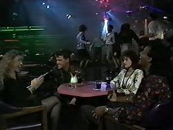 Jan Daley, Paul Robinson, Christina Alessi, Eddie Buckingham in Neighbours Episode 1193