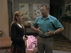 Melanie Pearson, Harold Bishop in Neighbours Episode 1194