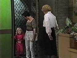 Sky Bishop, Kerry Bishop, Madge Bishop in Neighbours Episode 1194