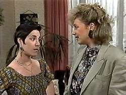 Kerry Bishop, Beverly Marshall in Neighbours Episode 1194