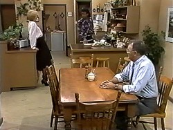 Madge Bishop, Eddie Buckingham, Harold Bishop in Neighbours Episode 1195