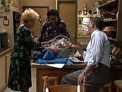 Madge Bishop, Eddie Buckingham, Harold Bishop in Neighbours Episode 1195
