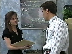 Caroline Alessi, Paul Robinson in Neighbours Episode 1196