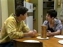 Joe Mangel, Kerry Bishop in Neighbours Episode 1196