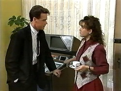 Paul Robinson, Christina Alessi in Neighbours Episode 1196