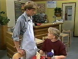 Ryan McLachlan, Sharon Davies in Neighbours Episode 1196