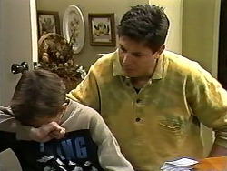 Toby Mangel, Joe Mangel in Neighbours Episode 1196