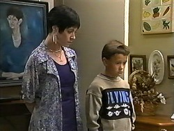 Kerry Bishop, Toby Mangel in Neighbours Episode 1196