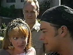 Melanie Pearson, Jim Robinson, Matt Robinson in Neighbours Episode 1198