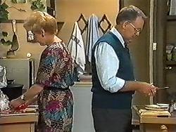 Madge Bishop, Harold Bishop in Neighbours Episode 1198