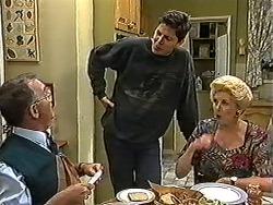 Harold Bishop, Joe Mangel, Madge Bishop in Neighbours Episode 1199