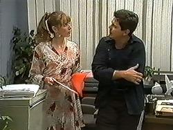 Melanie Pearson, Joe Mangel in Neighbours Episode 1199