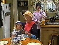 Sky Bishop, Madge Bishop, Kerry Bishop in Neighbours Episode 1199